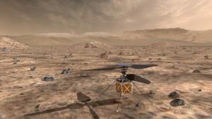 helicoptero marciano (Cortesia JPL-NASA)